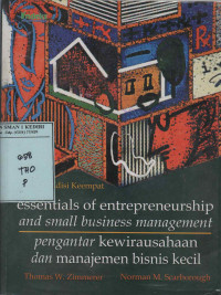 Image of Essentials of Entrepreneurship and Small Business Managemant, Fourth Edition